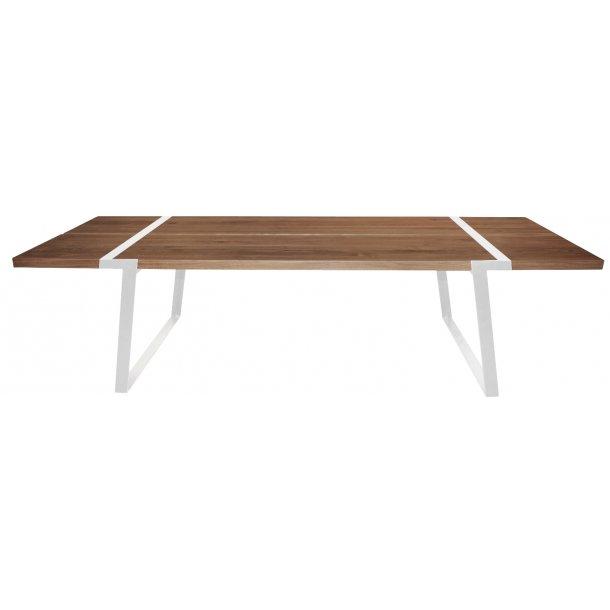 Goliat plankebord 290 x 100 cm bordplade af massiv olieret vildeg