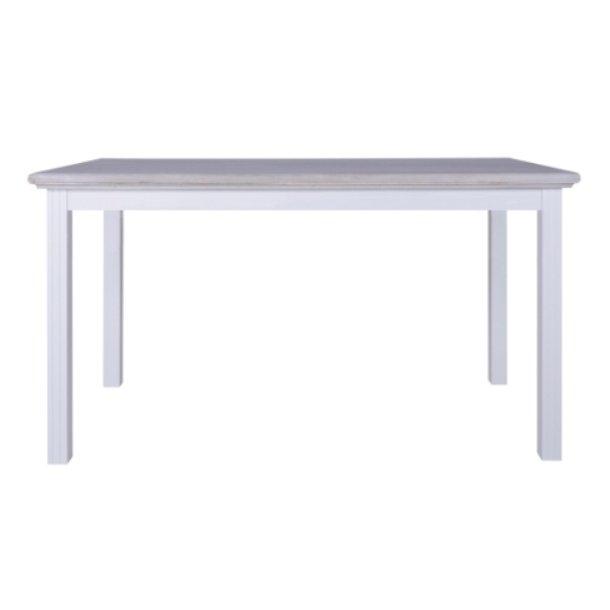 Rosenborg hvidt spisebord 150 x 80 cm