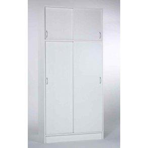 Forskellige Garderobeskabe bredde 100 - 120 - 150 - 180 cm, spar 20 - 50% JJ83